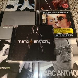 Marc Anthony 7 CDs mixed Albums Used